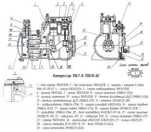 компрессор-1ПБ10-В