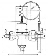Терморегулирующий вентиль ТРВКС-8